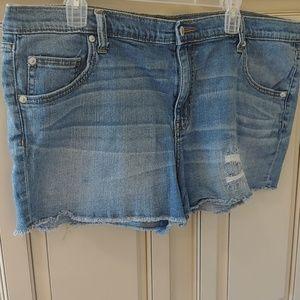 Women's Mossimo denim shorts 18